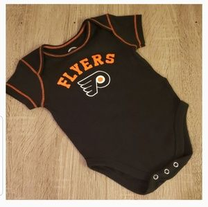 **5 for $15** NHL Flyers Onesie 12 Months